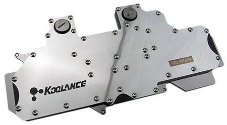 Водоблок Koolance VID-AR699 для 3D-карты AMD Radeon HD 6990