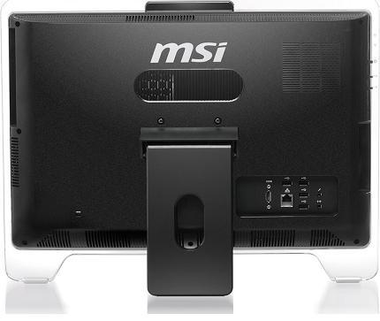 MSI WindTop AE2050, вид сзади