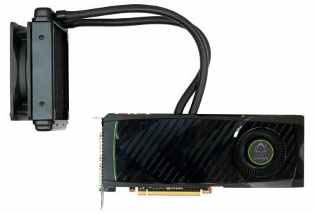 Видеокарта GTX 580 со встроенной СВО