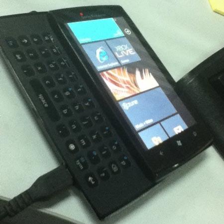�������� ��������� Sony Ericsson � �� Windows Phone 7