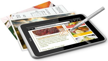 HTC Flyer может разойтись тем же тиражом, что и Samsung Glaxy Tab