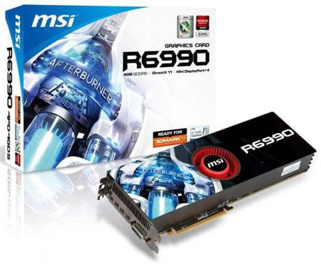 AMD Radeon HD 6990, ������� MSI