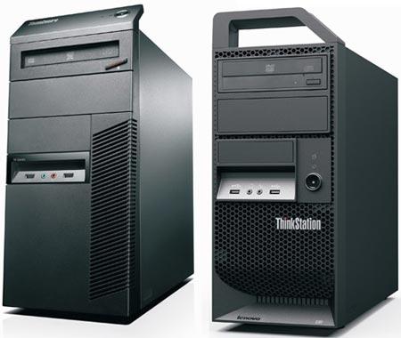 Настольные ПК Lenovo ThinkStation E30 и M81