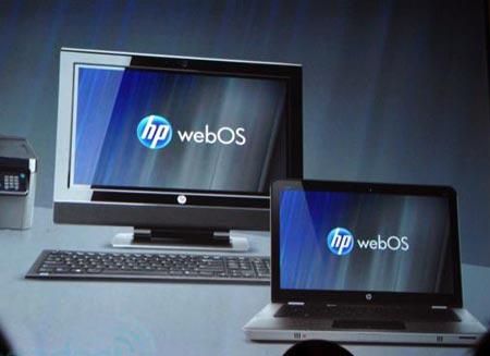 В будущем году WebOS будет на каждом персональном компьютере HP
