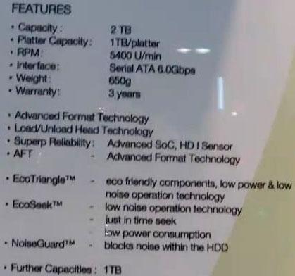 Характеристики Samsung HN-D201RAE
