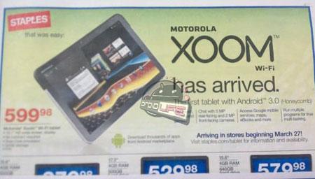 ... � Motorola Xoom Wi-Fi � 27 �����