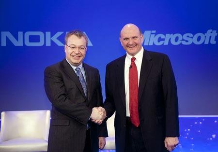 Главы Microsoft и Nokia