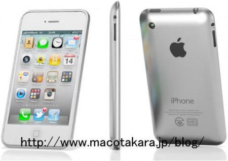 Как может выглядеть iPhone 5