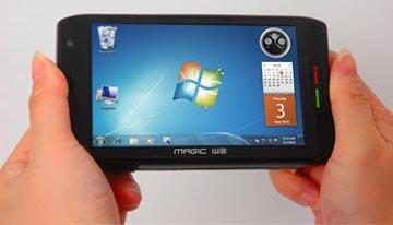 карманный микрокомпьютер под управлением Windows 7 от AdvanceTC