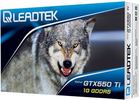 �������� 3D-����� Leadtek WinFast GTX 550 Ti