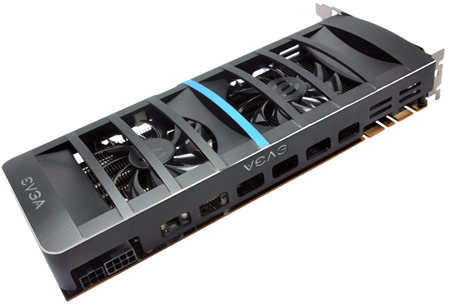 3D-карта EVGA GeForce GTX 580 DS Superclocked