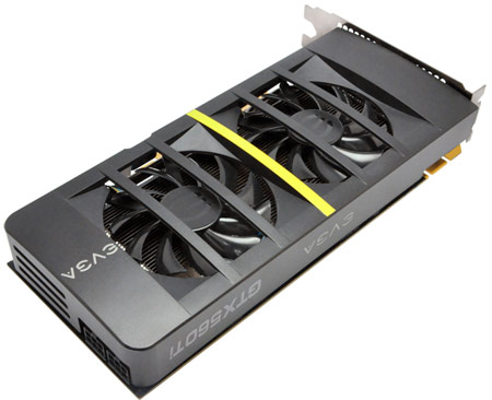 3D-карта EVGA GeForce GTX 560 Ti DS Superclocked