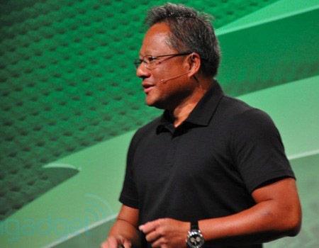 глава компании NVIDIA, господин Дженсен Хуанг