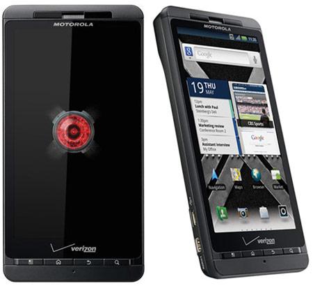 Стартовали продажи смартфона Motorola Droid X2