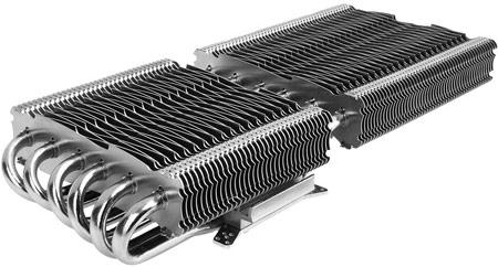 Охладитель 3D-карт Alpenföhn Peter рассчитан на четыре вентилятора размером 140 мм