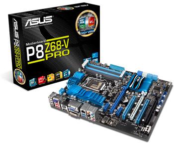 Системные платы ASUS серии P8Z68