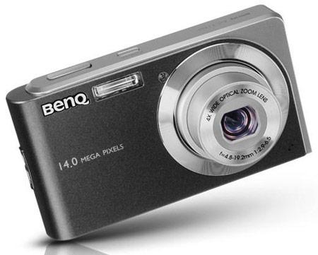 Разрешение компактной камеры BenQ E1465 равно 14 Мп