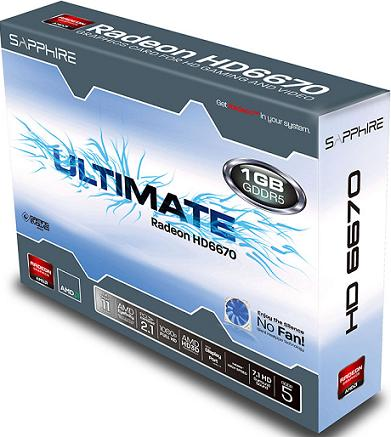SAPPHIRE Ultimate HD 6670