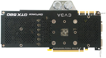 3D-карта EVGA GeForce GTX 580 3072MB Hydro Copper 2