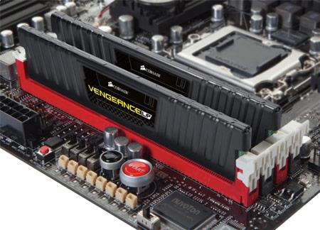 низкопрофильные модули памяти DDR3 Corsair Vengeance LP