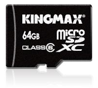 KINGMAX выпускает карту памяти microSDXC объемом 64 ГБ