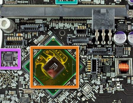 Чип Intel BD82Z68 в iMac