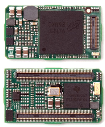 Модули Logic PD размерами 15 x 27 x 3,8 мм основаны на процессорах Texas Instruments DM3730 DaVinci и AM3703 Sitara
