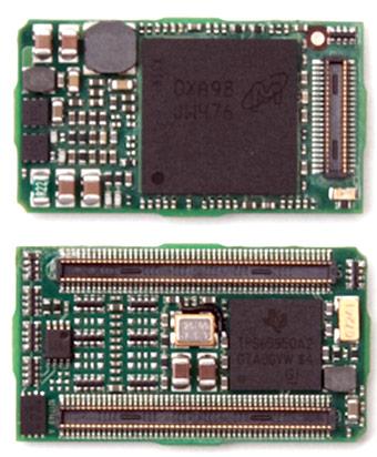 Модули Logic PD размерами 15 x 27 x 3,8 мм основаны на процессорах Texas Instruments DM3730 DaVinci и AM3703 Sitara