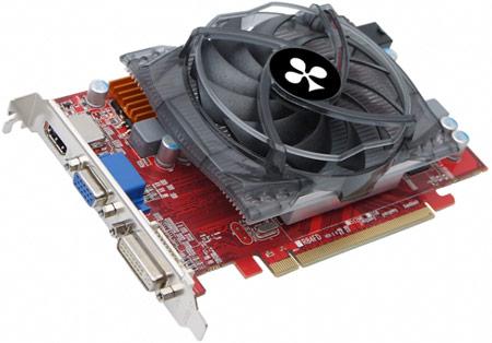 Память 3D-карты Club 3D Radeon HD 6750 работает на частоте 4000 МГц