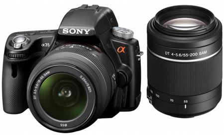Полные спецификации камеры Sony α35 в преддверии официальной премьеры