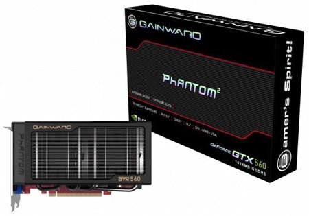 Gainward GTX 560 1024MB Phantom