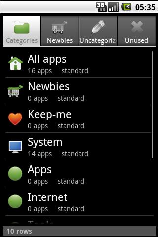 Auto App Organizer