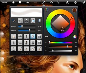 SketchBook Pro для iPad