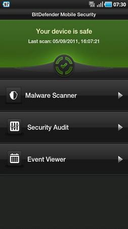 BitDefender Mobile Security Bet