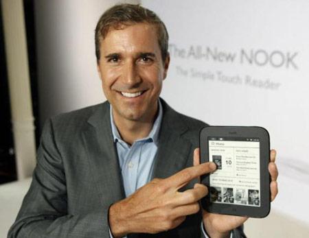 Barnes & Noble выпускает новую электронную книгу NOOK