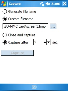 PDAcraft Capture