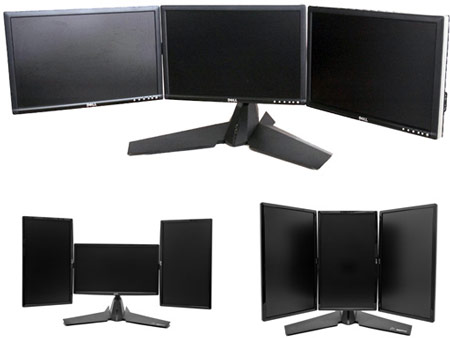 подставка XFX Triple Display Monitor Stand