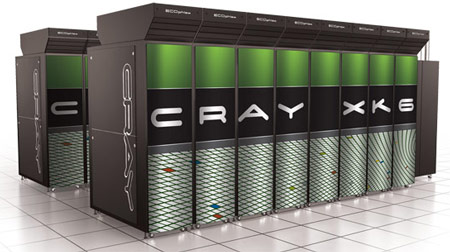 В суперкомпьютере Cray XK6 объединены CPU AMD Bulldozer и GPU NVIDIA Tesla