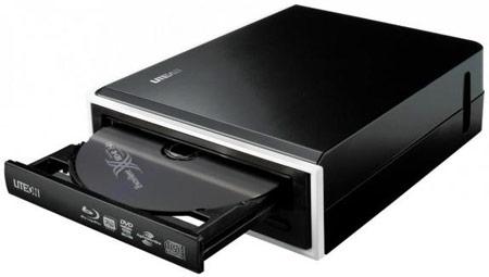 ���������� ������ Lite-On eHBU212 � ����������� USB 3.0 � ���������� Blu-ray