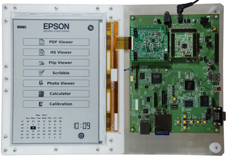 E Ink и Epson создали электронную бумагу разрешением 300 точек на дюйм