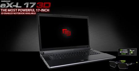 Maingear eX-L 17 3D