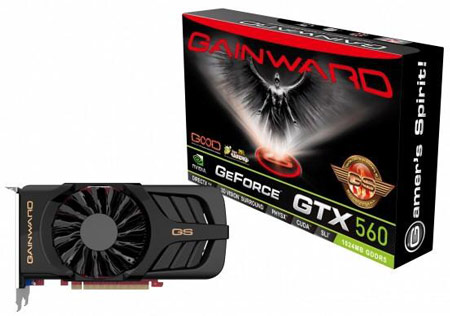Gainward GTX 560 1024MB Golden Sample