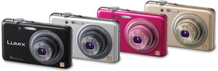 камера Panasonic LUMIX DMC-FH7 будет доступна в четырех вариантах цветового оформления