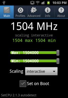 Частота, на которой CPU Exynos 4210 Hummingbird стабильно работает, — 1,5 ГГц