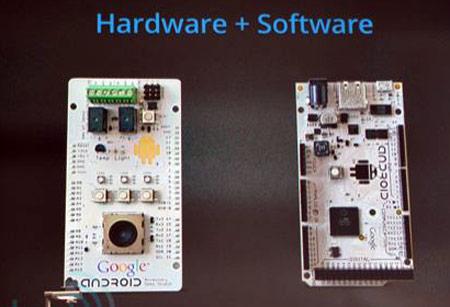 Google представила стандарт Android Open Accessory и референсный набор разработчика на базе Arduino