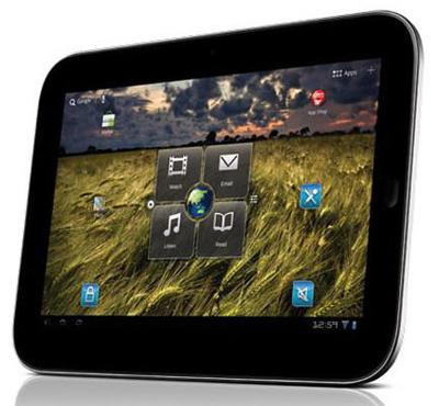 Lenovo IdeaPad K1 работает под управлением ОС Android 3.0