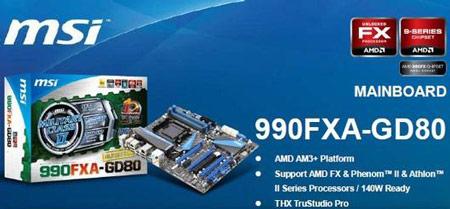 системная плата MSI 990FXA-GD80