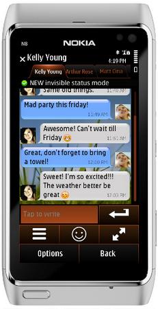 Nimbuzz Symbian