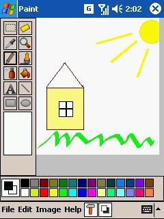 PDAcraft Paint