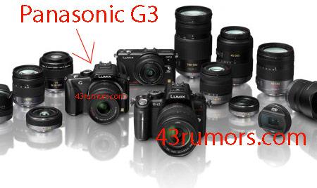 Первое изображение камеры Panasonic G3 появилось накануне официальной премьеры